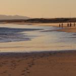 Precioso atardecer en la playa de Zahara de los Atunes