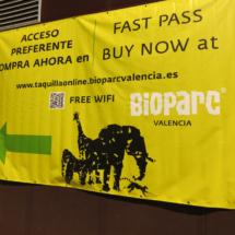Cartel del Bioparc de Valencia