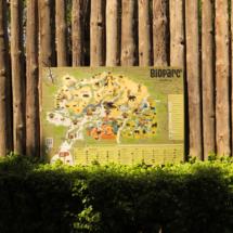 Plano del Bioparc de Valencia