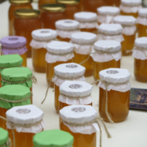 Tarros de miel de La Alcarria