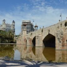 Jardín del Turia (parte antigua): Puente del Mar