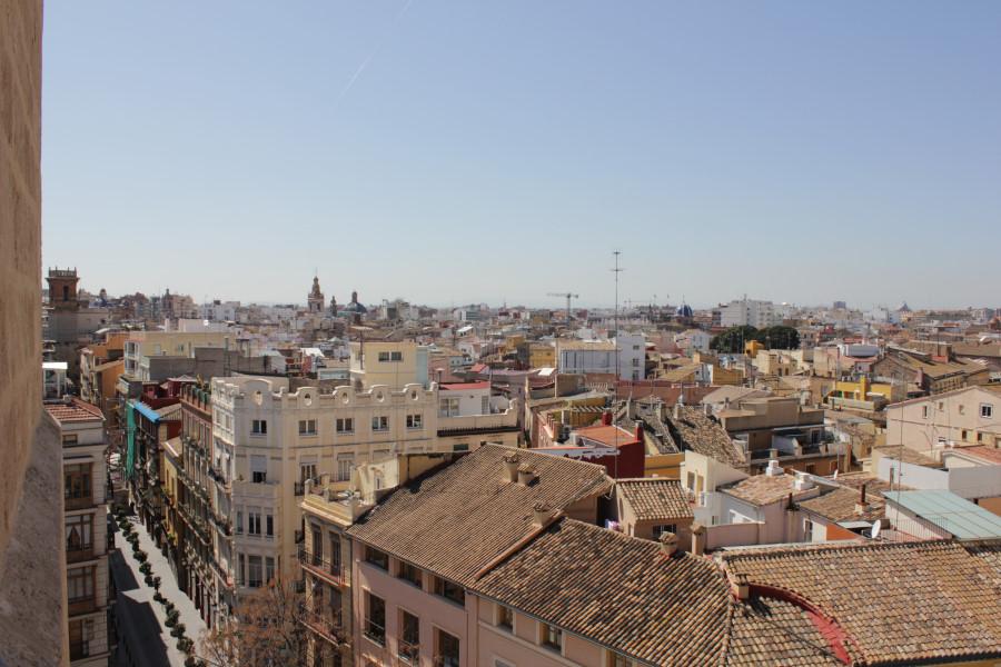 Vistas de Valencia desde las Torres de Serranos