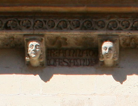 Cabezas leridanas de la catedral de Valencia