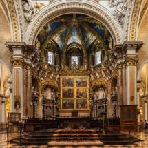 Retablo mayor de la catedral de Valencia