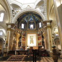 Capilla central de la Catedral de Valencia