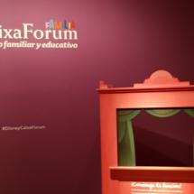 Exposición sobre Disney en el Caixaforum de Madrid