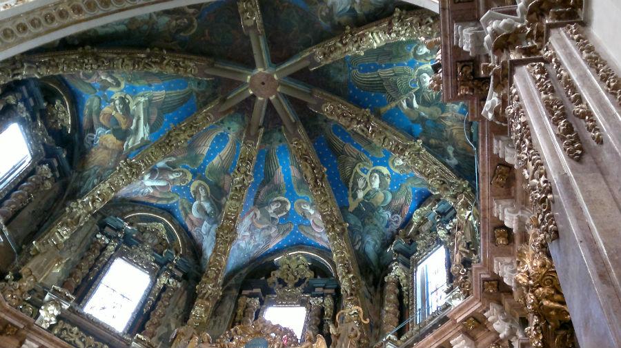 Frescos de la catedral de Valencia