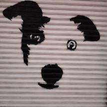 Graffiti en el centro de Valencia