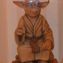 Ninot Indultat de Yoda, en el Museo Fallero