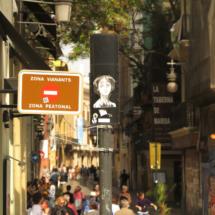 Calle del centro de Valencia