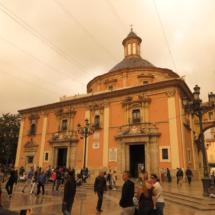 Basílica de la Virgen del Amparo, en Valencia