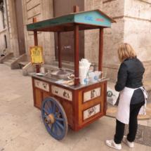 Puesto ambulante en Valencia