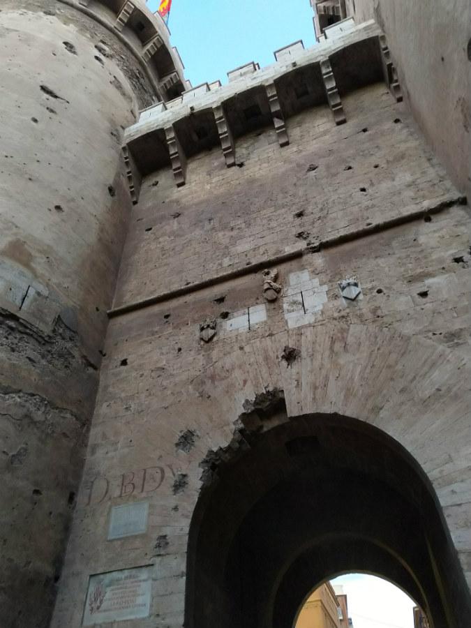 Puerta de las Torres de Quart
