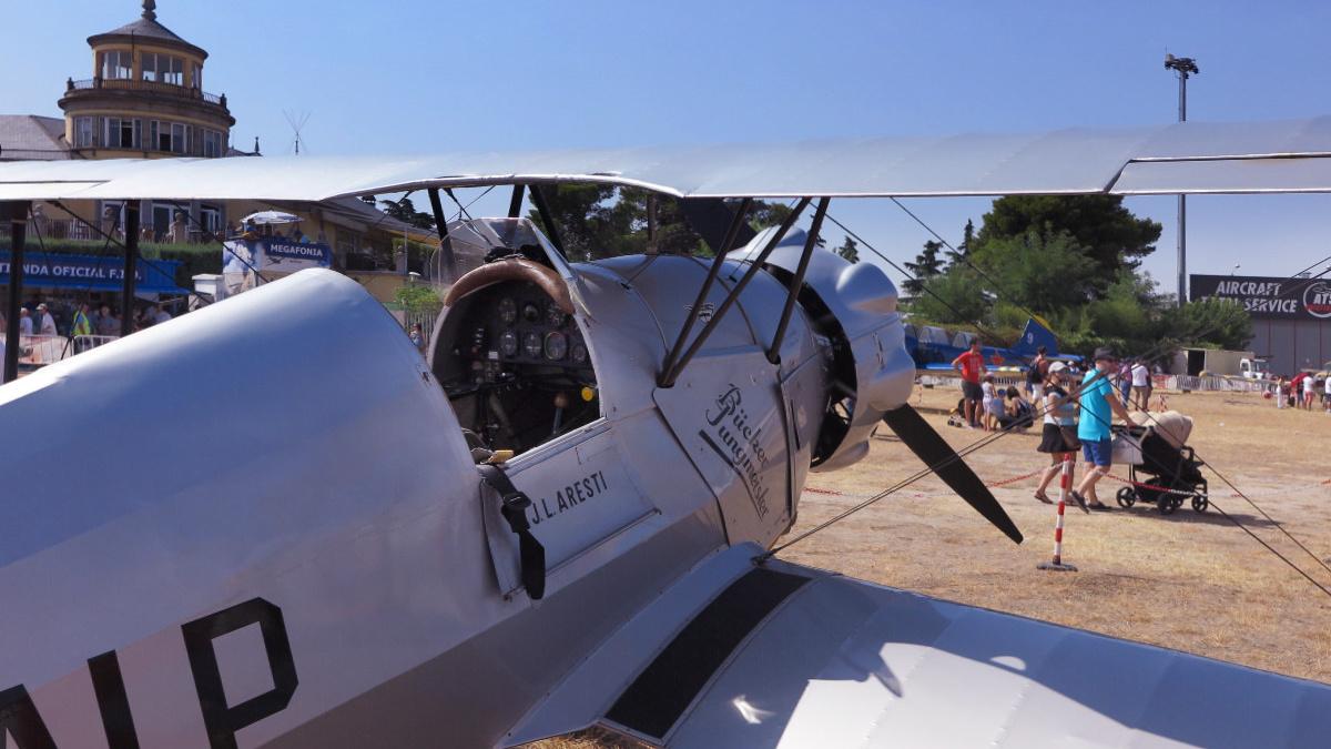 Avión de la base aérea de Cuatro Vientos, en Madrid