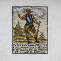 Cartel conmemorativo de Navalcarnero