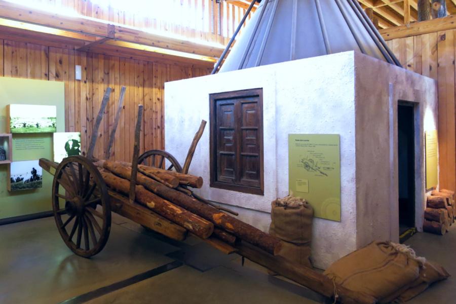 Instalación de la Casa del Parque de la Laguna Negra, en Soria