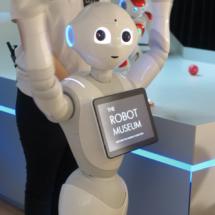 Pepper es un robot diseñado para la educación