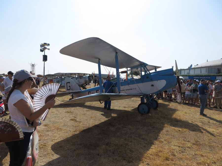 Exhibición aérea en Cuatro Vientos
