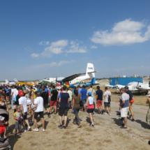 Exhibición aérea en Cuatro VientosExhibición aérea en Cuatro Vientos