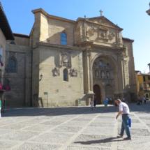 Fachada de la Catedral de Santo Domingo de la Calzada