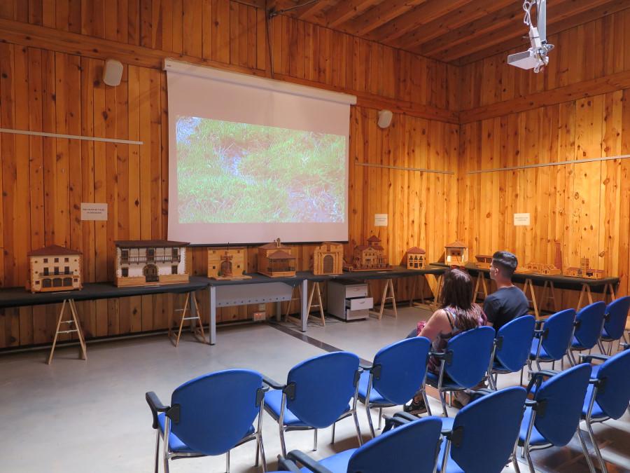 La Casa del Parque es todo un 'museo' sobre la Laguna Negra