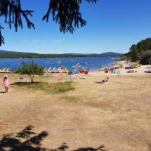 Entorno de la Playa Pita, en Soria