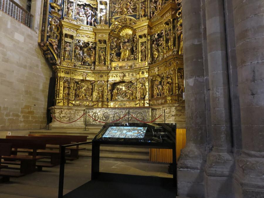 Retablo del altar mayor de Santo Domingo de la Calzada