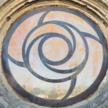 Rosetón del s. XXI, en Santo Domingo de la Calzada