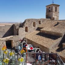 Patio de Armas del Castillo de Garcimuñoz