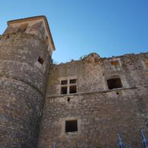 Fachada del Castillo de Garcimuñoz