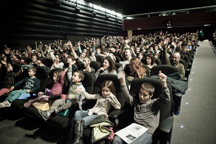 Público de 'Mi Primer Festival de Cine'