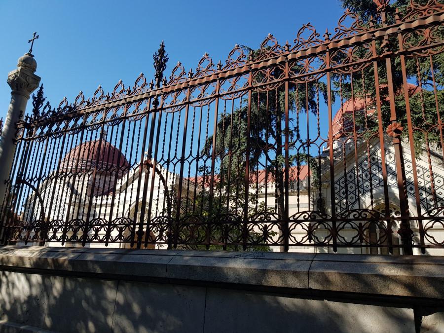 Exterior del Panteón de Hombres Ilustres de Madrid