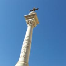 Cruz del Panteón de Hombres Ilustres de Madrid