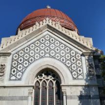 Fachada del Pantelón de Hombres Ilustres de Madrid