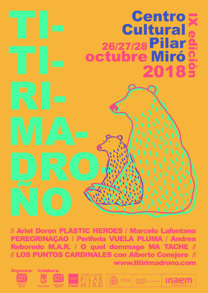 Cartel de Titirimadroño 2018