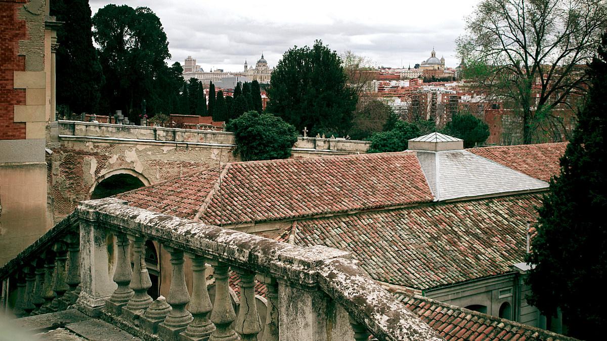 Vistas de Madrid desde el Cementerio de San Isidro