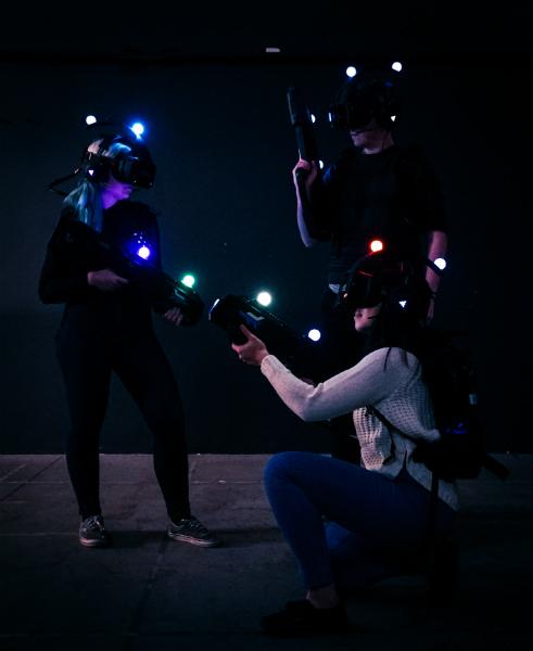 Experiencia de realidad virtual en Zero Latency