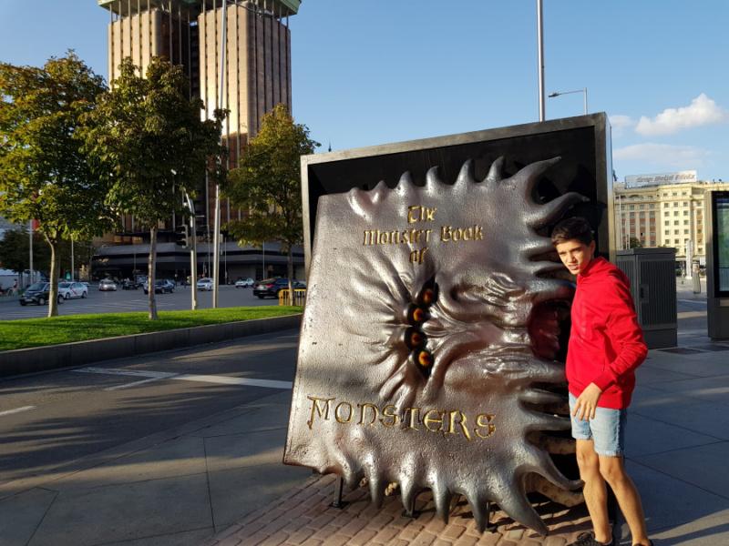 Libro de Monstruos de Harry Potter