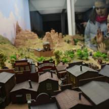 Diorama del museo de soldaditos de plomo de Jaca