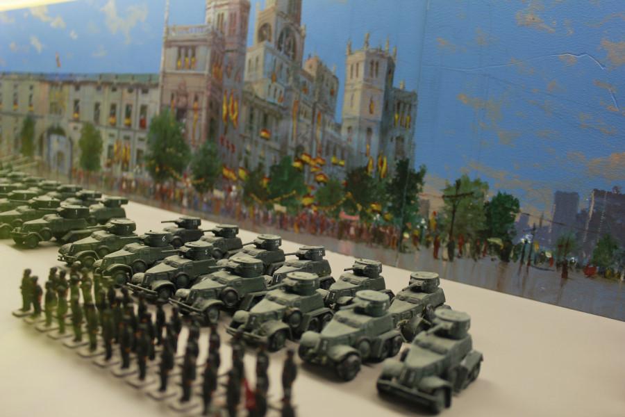 Escena del Museo de Miniaturas Militares de Jaca