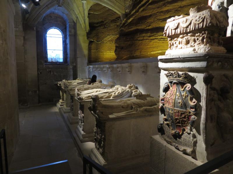 Panteón de Infantes de Santa María de Nájera