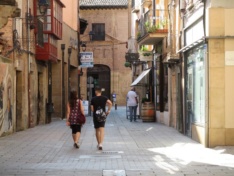 Paseo por el casco histórico de Nájera