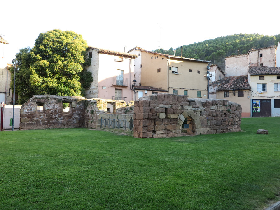 Ruinas de la Plaza de Navarra