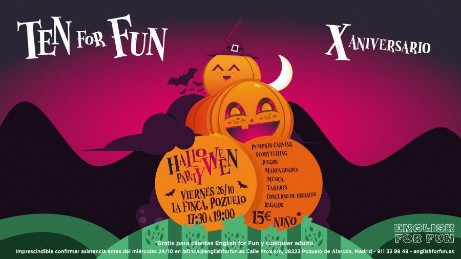 Fiesta de Halloween de Ten for Fun