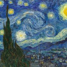 Noche Estrellada, de Van Gogh