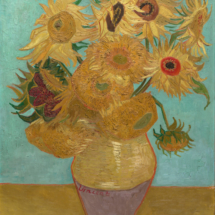 Vase with Twelve Sunflowers January 1889