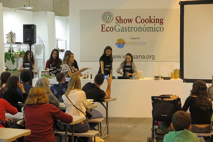 Showcooking en Biocultura