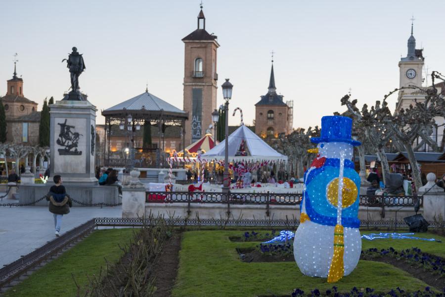 Navidad en Alcalá de Henares. Foto de Miguel A. Muñoz Romero