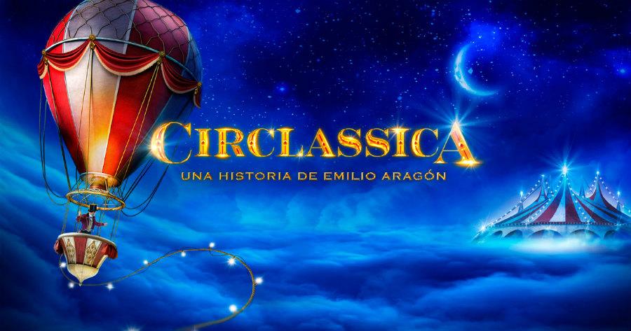 Cartel de Circlassica, el nuevo espectáculo de circo de Emilio Aragón