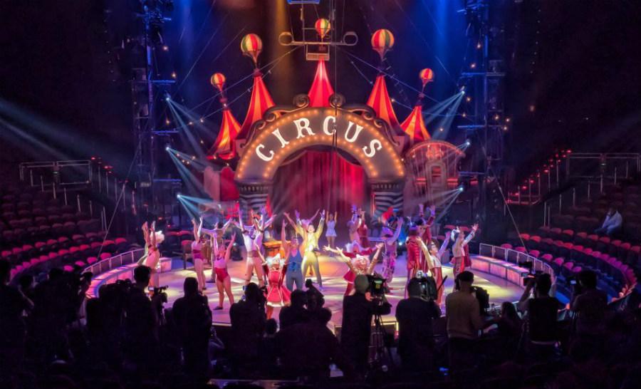 Pista de Circlassica, el nuevo espectáculo de circo de Emilio Aragón